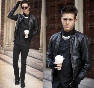 Mix áo khoác nam đẹp cho chàng có chiều cao khiêm tốn