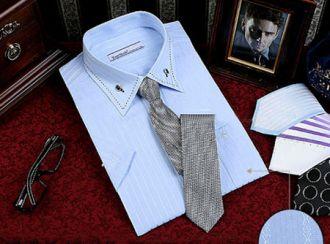 Mix sơ mi nam công sở đẹp với cà vạt cho quý ông sang trọng hè 2016