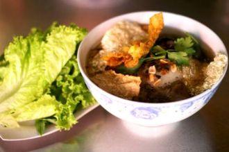 Món Hủ tiếu chay thanh đạm cho ngày hè Sài Gòn