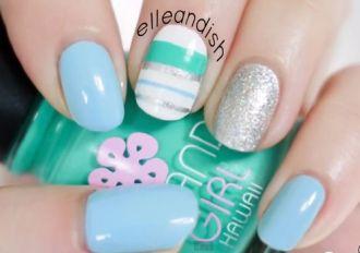 Những kiểu sơn móng tay nail kẻ đẹp bắt mắt điệu đà