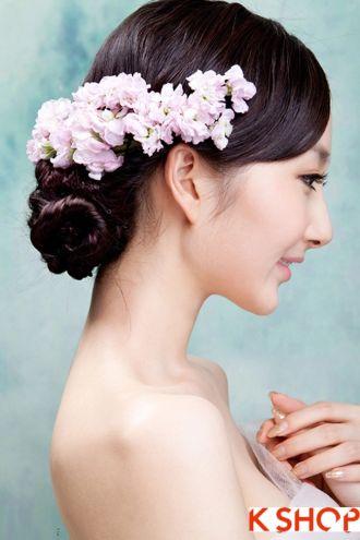 Những kiểu tóc cô dâu đẹp quyến rũ lôi cuốn nổi bật