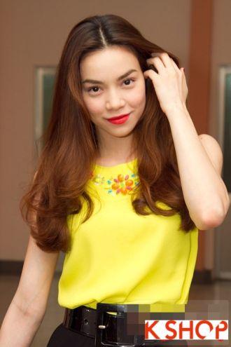 Những Kiểu tóc cực quyến rũ sang trọng của sao Việt năm nay