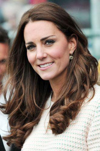 Những kiểu tóc đẹp thanh lịch quyến rũ công nương Kate Middleton
