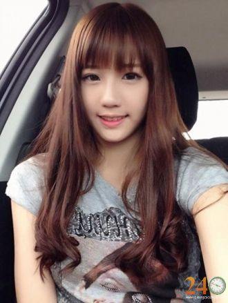 Những kiểu tóc hàn quốc đẹp cho khuôn mặt dài mạnh mẽ