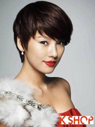 Những kiểu tóc ngắn Hàn Quốc cho bạn gái đầy cá tính năng động