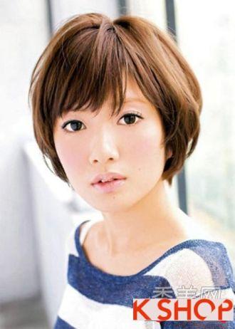 Những kiểu tóc ngắn phù hợp cho bạn gái có khuôn mặt tròn mũm mĩm