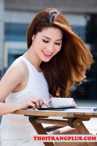 Những kiểu tóc quyến rũ của Hot Girl Việt Diễm My gợi cảm