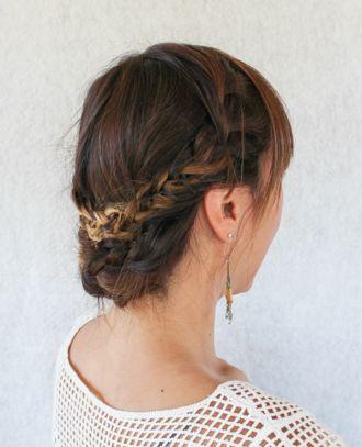 Những kiểu tóc tết búi cao đẹp gọn gàng cho bạn gái ngày hè này