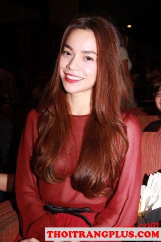 Những kiểu tóc trẻ trung quyến rũ của ca sĩ Hồ Ngọc Hà
