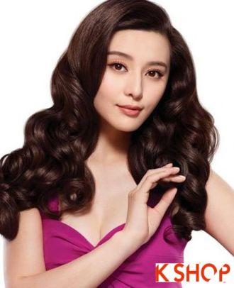 Những kiểu tóc uốn xoăn phong cách Hàn Quốc thanh lịch