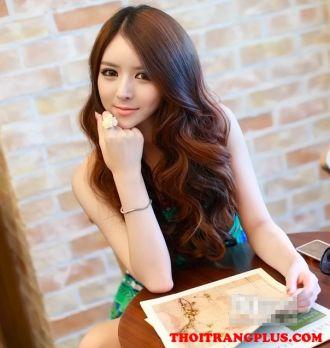 Những kiểu tóc xoăn dài Hàn Quốc cho cô nàng quyến rũ