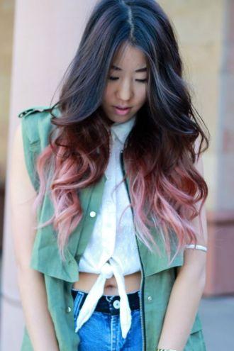 Những màu tóc nhuộm đuôi đẹp nhất cho giới trẻ