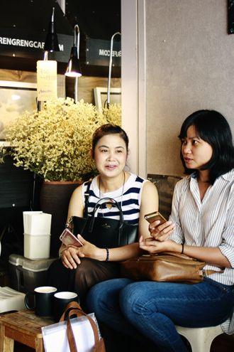 Quán cà phê khởi nghiệp từ xe đạp dạo ở Hà Nội thích thú
