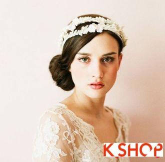 Tóc búi cho cô dâu sang trọng cuốn hút trong ngày cưới hạnh phúc