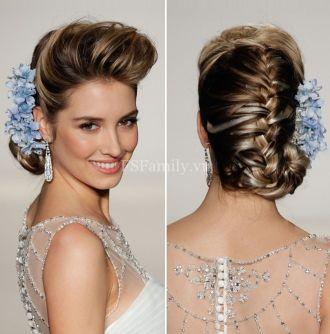 Tóc búi đẹp cho cô dâu quyến rũ trong ngày cưới