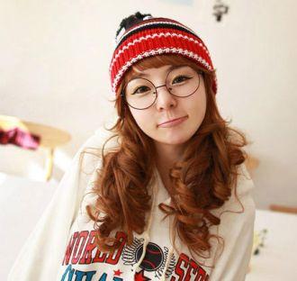 Tóc dài uốn xoăn đẹp kiểu Hàn Quốc cho cô nàng