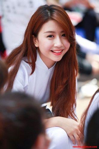 Tóc hàn quốc nổi bật khi đến trường của Hot Girl Việt cá tính
