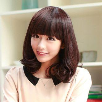 Tóc mái bằng Hàn Quốc đẹp cho nàng phong cách dễ thương độc đáo
