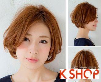 Tóc ngắn mang phong cách Hàn Quốc cho bạn gái sành điệu cá tính