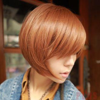 Tóc ngắn ngang vai ốp phong cách Hàn Quốc trẻ trung