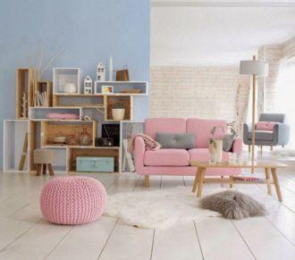 Tông màu giúp căn nhà có cảm giác bình yên, thư giãn
