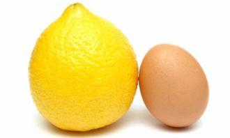 Trứng gà, chanh leo và bí quyết làm dẹp da mặt đơn giản