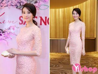 Váy đầm màu pastel đẹp sang trọng xinh xắn như hot girl