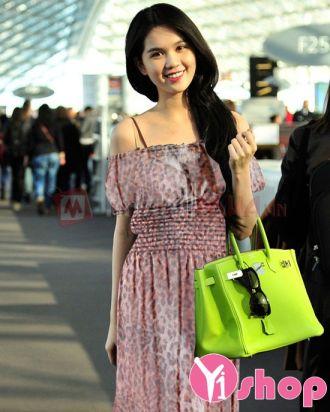 Váy đầm maxi voan hoa dài đẹp xu hướng thời trang tự tin
