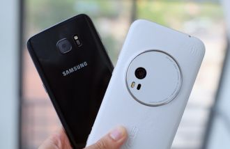 Asus Zenfone Zoom vs Galaxy S7 edge về chụp ảnh