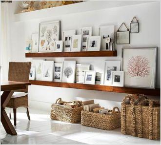Mẹo đơn giản để bày nhiều ảnh trên tường