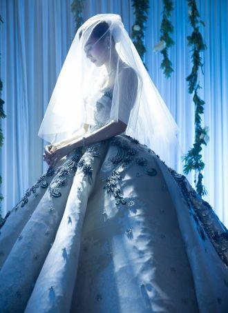 Ảnh cưới đẹp ngất ngây của Thanh Hằng