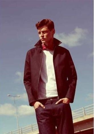 Áo khoác nam lookbook của Ressi đơn giản hiện đại