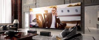 TV 4K màn hình khủng nhất thế giới với 262 inch