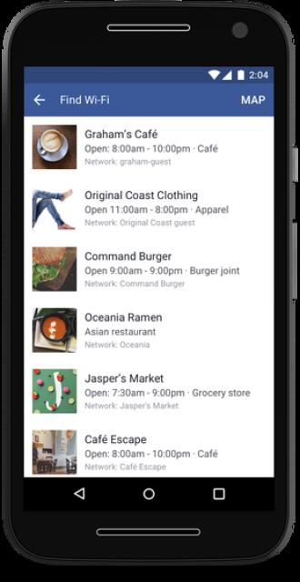 Tính năng 'Tìm Wifi' đã được FB chính thức cho ra mắt