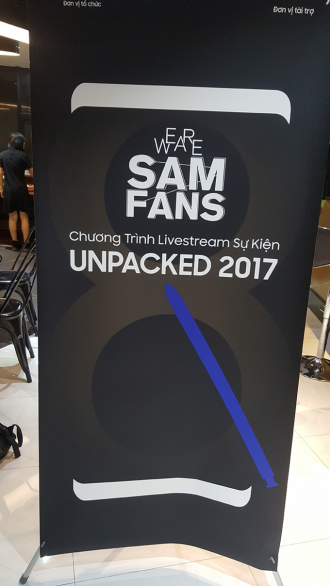 Cộng đồng fan Samsung Việt Nam hào hứng với sự kiện