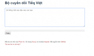 Bật mí bộ chuyển đổi Tiếng Việt sang 'Tiếq Việt'
