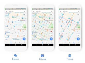 Lần đầu tiên sau nhiều năm, Google Maps được cập nhật để có vẻ ngoài rực rỡ hơn