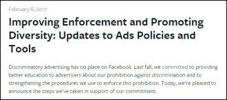 Sau lời hứa một năm trước, Facebook vẫn bán quảng cáo phân biệt chủng tộc