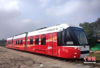 Trung Quốc ra mắt xe chạy bằng hydrogen đầu tiên trên thế giới