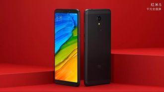 Hình ảnh đầu tiên về hai smartphone Redmi 5 và Redmi 5 Plus của Xiaomi