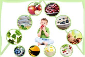 Những thực phẩm bổ não mẹ nên tăng cường cho bé