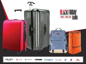 Black Friday cuồng nhiệt mua sắm vali, balo thương hiệu cao cấp