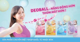 Có gì trong DeoBall- quả bóng thần kỳ từ Nhật Bản?