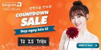 Khuyến mãi thẩm mỹ lớn trong chương trình countdown sale cuối năm 2016