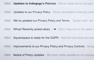 Ngày đầu tiên đạo luật dữ liệu mới của châu Âu có hiệu lực
