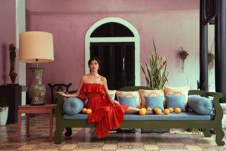 Người mẫu đẹp lạ lùng với phong cách Havana