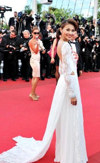 Những người đẹp Việt từng gây ấn tượng tại thảm đỏ Cannes