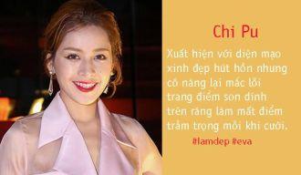 """Những sao Việt ngượng chín mặt vì """"răng ăn son"""""""