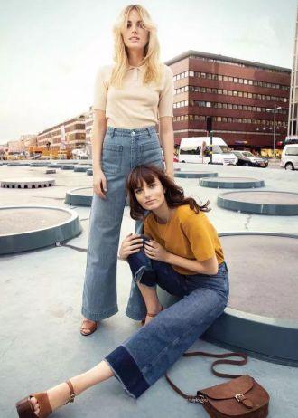 Quần jeans ống rộng có rất nhiều ưu điểm mà chị em chưa biết