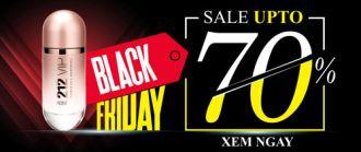 Thế Giới Nước Hoa giảm giá đến 70% dịp Black Friday